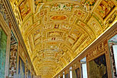 ceiling stock photography | Vatican City, Painted Cieling, Vatican Museum, image id S4-504-5877