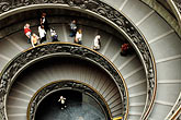 exhibit stock photography | Vatican City, Spiral Staircase, Vatican Museum, image id S4-504-5907