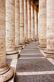 piazza stock photography | Vatican City, Colonnade, Piazza San Pietro, image id S4-504-6087