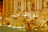 dark stock photography | Italy, Rome, Trevi Fountain, image id S4-504-6210
