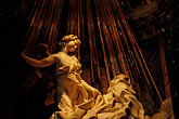 travel stock photography | Italy, Rome, Ecstasy of St. Teresa, Bernini, image id S4-505-6369