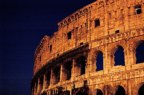 image S4-505-6529 Italy, Rome, Colosseum