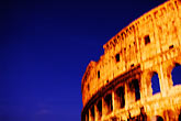 twilight stock photography | Italy, Rome, Colosseum, image id S4-505-6532