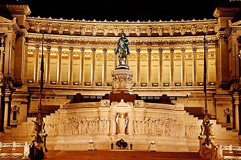 image S4-505-6572 Italy, Rome, Vittoria Emanuele II Monument, or Vittoriano