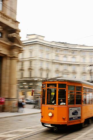 image S4-510-6797 Italy, Milan, Streetcar