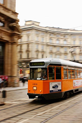 image S4-510-6801 Italy, Milan, Streetcar