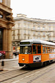 travel stock photography | Italy, Milan, Streetcar, image id S4-510-6801