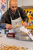 foodstuff stock photography | Italy, Milan, Candy Vendor, image id S4-510-6811