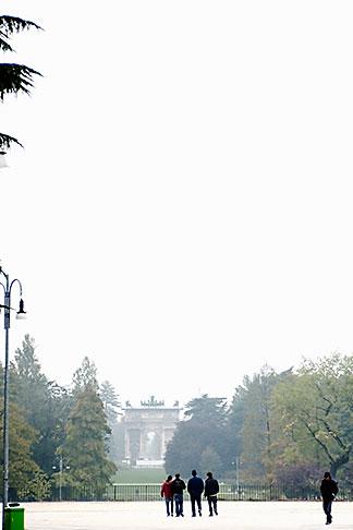 image S4-510-6894 Italy, Milan, Parco Sempione