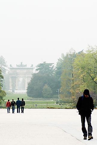 image S4-510-6896 italy, Milan, Parco Sempione