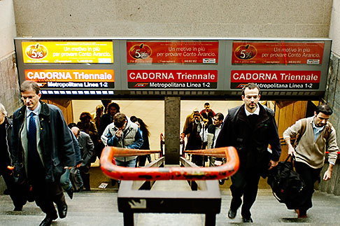 image S4-510-6932 Italy, Milan, Subway Station Entrance