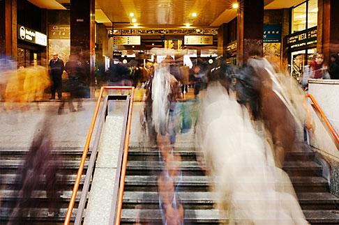 image S4-510-6962 Italy, Milan, Subway stairs