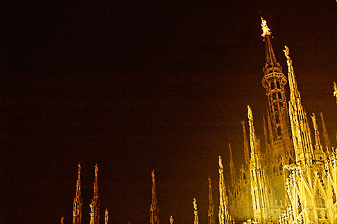 image S4-510-7022 Italy, Milan, Duomo at night