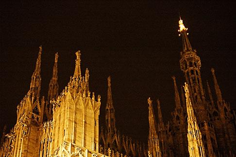 image S4-510-7030 Italy, Milan, Duomo at night