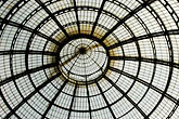 window stock photography | Italy, Milan, Glass cieling, Galleria Vittoria Emanuele, image id S4-511-7230