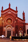 dusk stock photography | Italy, Milan, Church, image id S4-511-7405