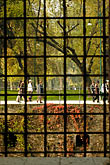 pedestrian stock photography | Italy, Milan, Looking out the window,  Museum, Castello Sforzesco, image id S4-512-7436