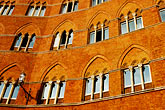 window stock photography | Italy, Siena, Building, Il Campo, image id S4-520-7498