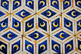 close up stock photography | Italy, Siena, Tile Floor, Piccolomini Library, image id S4-520-7611