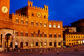 tuscan stock photography | Italy, Siena, Palazzo Publico, Il Campo, image id S4-520-7801