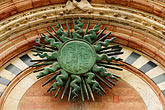 embellishment stock photography | Italy, Siena, Entryway, Duomo, image id S4-522-8482