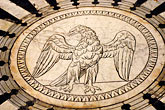 marble floor of cathedral stock photography | Italy, Siena, Eagle, Marble Floor of Cathedral, image id S4-522-8505