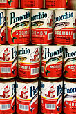 canned goods stock photography | Italy, San Gimignano, Fish Tins, image id S4-528-8647