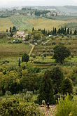 europe stock photography | Italy, San Gimignano, Surrounding countryside, image id S4-528-8761