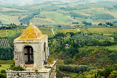 image S4-528-8842 Italy, San Gimignano, Surrounding countryside