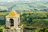 lookout stock photography | Italy, San Gimignano, Surrounding countryside, image id S4-528-8842