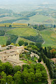 lookout stock photography | Italy, San Gimignano, Surrounding countryside, image id S4-528-8862