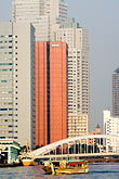 highrise stock photography | Japan, Tokyo, Sumida River Bridge , image id 5-850-1935