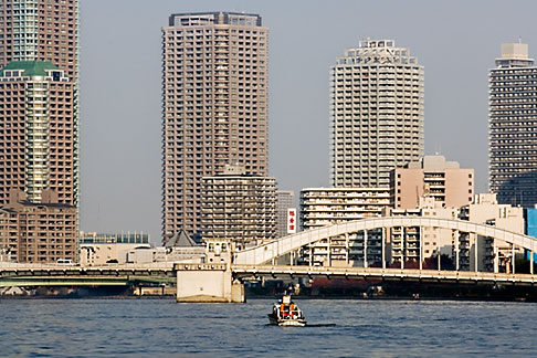image 5-850-1936 Japan, Tokyo, Sumida River bridge