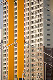 neighborhood stock photography | Japan, Tokyo, Apartment building and bridge, image id 5-850-1968