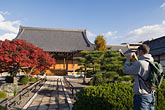 autumn stock photography | Japan, Kyoto, Shinto temple, image id 5-855-2165