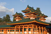 buddhist temple stock photography | Japan, Kyoto, Heian Shrine, image id 5-855-2216