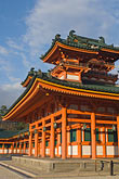 low angle view stock photography | Japan, Kyoto, Heian Shrine, image id 5-855-2228