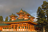 low angle view stock photography | Japan, Kyoto, Heian Shrine, image id 5-855-2305