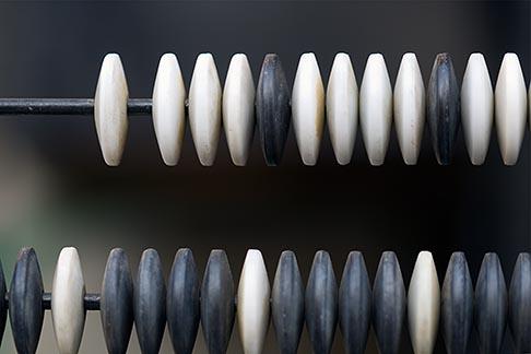 image 5-855-2507 Japan, Kyoto, Prayer beads