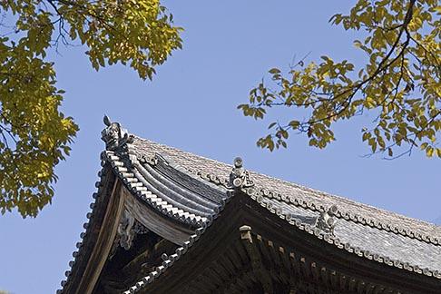 image 5-855-2528 Japan, Kyoto, Konkai Kumyoji Temple roof
