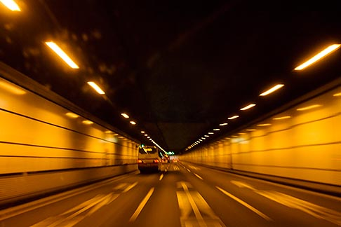 image 7-675-4108 Japan, Yokohama, Underground motorway tunnel
