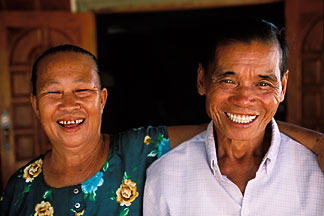 8-630-17 stock photo of Laos, Vientiane Province, Phommonasathith family, Hinh Heub village