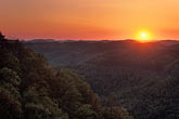 twilight stock photography | Kentucky, Southeast, Pine Mountain State Park, image id 1-383-5