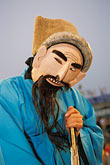 one man only stock photography | South Korea, Andong , Mask Dance Festival, Tongyoung Okangdae , image id 2-701-35