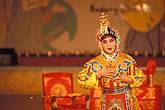 chinese dancer stock photography | South Korea, Andong , Mask Dance Festival, Chinese Monam mask dance, image id 2-701-68