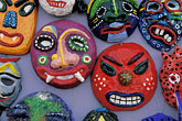 nobody stock photography | South Korea, Andong , Mask Dance Festival, Masks, image id 2-702-43