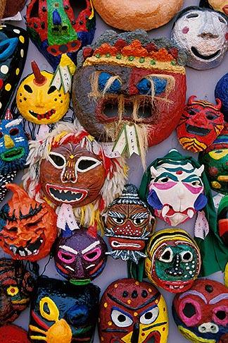 image 2-702-49 South Korea, Andong , Mask Dance Festival, Masks