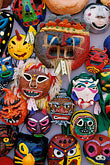 nobody stock photography | South Korea, Andong , Mask Dance Festival, Masks, image id 2-702-49