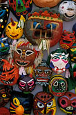 front view stock photography | South Korea, Andong , Mask Dance Festival, Masks, image id 2-702-50