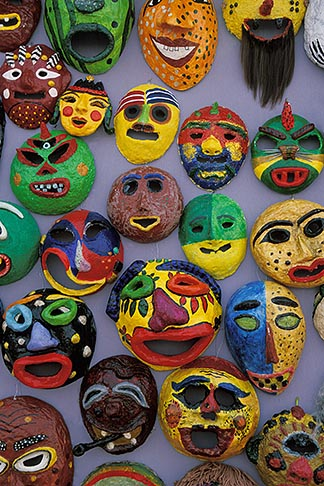 image 2-702-55 South Korea, Andong , Mask Dance Festival, Masks